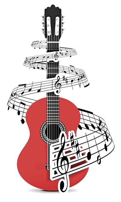 how to write guitar music