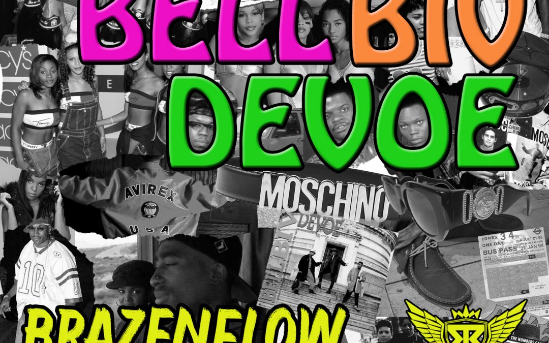 Less chat, more action as 'Brazenflow' hits us with his brilliant tune 'BELL BIV DEVOE'